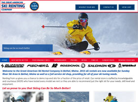 Great American Ski Rental Company in Bethel, Maine